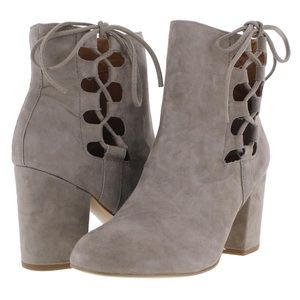 Steve Madden ankle boots suede covered